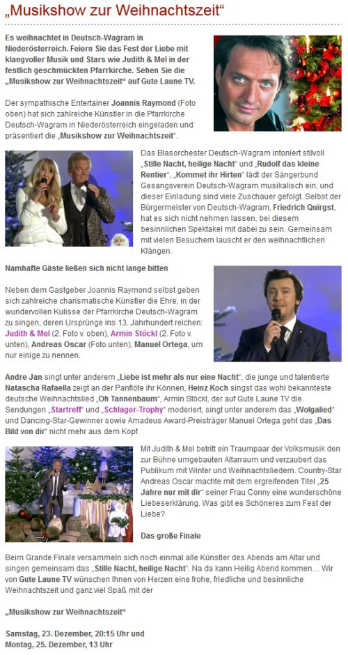 Andreas Oscar Alte Termine